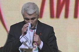 Литвин разрыдался на съезде Народной партии