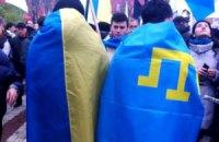В Крыму задержали татарина за участие в проукраинском митинге