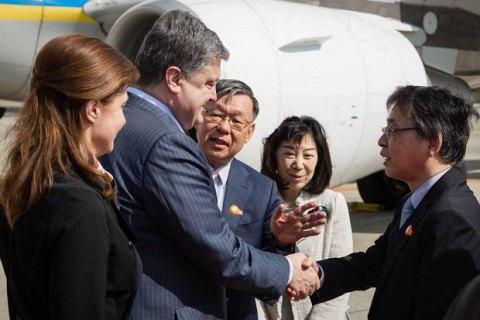 Порошенко объявил 2017-й год годом Японии в Украине