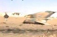 В Дамаске разбился сирийский военный самолет