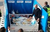 EgyptAir доставила 500-килограммовую женщину на лечение в Индию