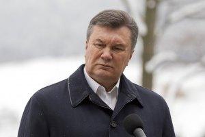 """Янукович пожаловался однопарийцам на """"нечистоплотность"""" в отношениях с Россией"""