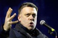 Переговоры оппозиции с Януковичем закончились ничем, - Тягнибок