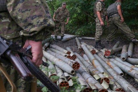 """Боевики продолжают применять """"Грады"""" и другое запрещенное вооружение при обстрелах"""