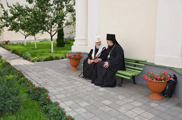 Патриарх Кирилл и Архиепископ Владимир