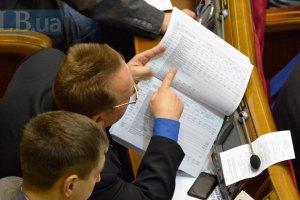 Депутаты разошлись до четверга
