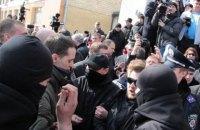 Автомайдановцы решили перекрыть дороги, требуя отставки главы винницкой полиции