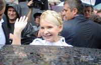 Охранник Тимошенко ударил в нос фотокора