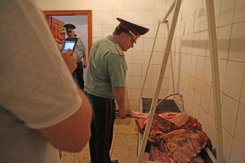 Полторак проверил и остался недоволен качеством питания солдат 28 бригады