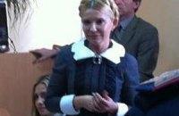 """Тимошенко """"отключила"""" аудиоаппаратуру в зале суда"""