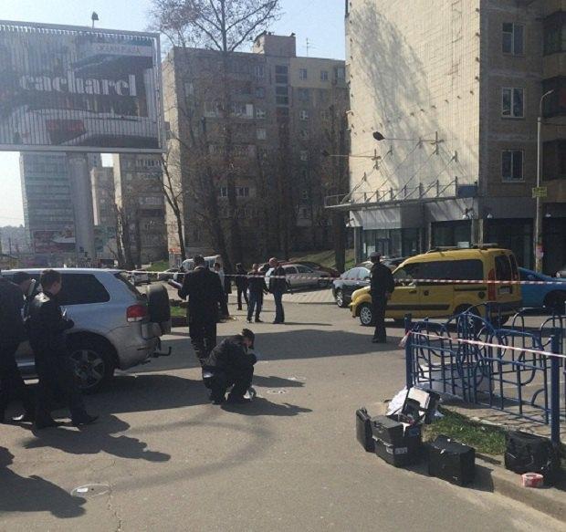 УКиєві біля готелю «Дружба» розстріляли бізнесмена