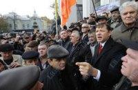 Ляшко заявил о захвате вместе с чернобыльцами Кабмина