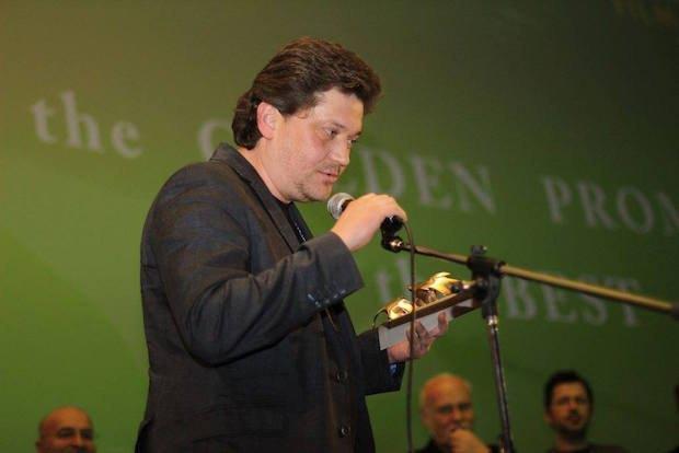 """На церемонії нагородження на кінофестивалі в Тбілісі, де """"Плем'я"""" отримало дві нагороди"""