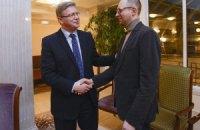 Поддержка Украины Евросоюзом зависит от готовности Януковича, - Яценюк