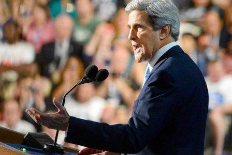 Керри: Россия останется под санкциями, пока не выполнит минские договоренности