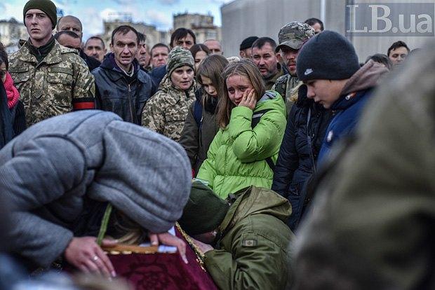 Вчера ночью погибли бойцы батальона «Айдар» Сергей Кочетов иНиколай Саюк