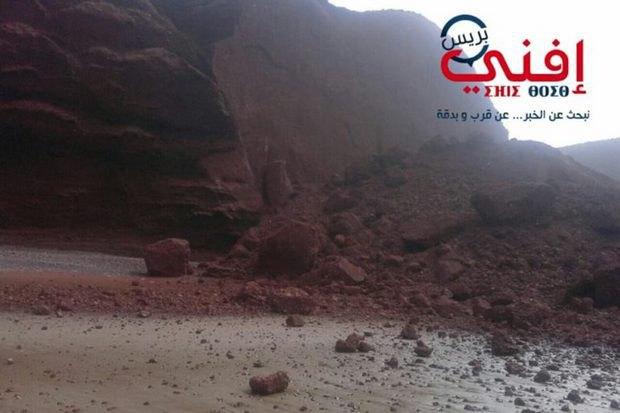 Слоновая арка разрушена вМарокко