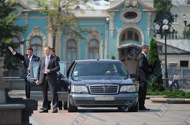 Показательное выступление Службы безопасности Президента