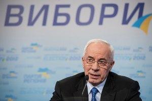Азаров обеспокоен ситуацией с подсчетом голосов