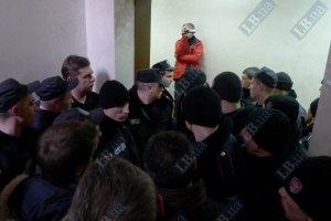 В суде над Луценко произошла потасовка между милицией и депутатами