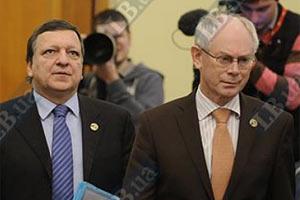 В МИДе рассказали, почему Ромпей и Баррозу не захотели встречаться с Азаровым
