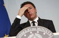 Президент Италии попросил Ренци отложить уход с поста премьера
