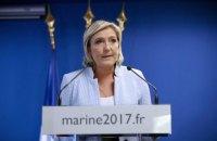 В СБУ заявили о готовности запретить Марин Ле Пен въезд в Украину