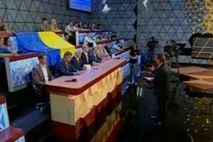 ТВ: Юбилей независимости, или ни слова о Тимошенко