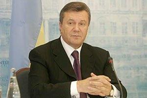 Янукович обещает сделать все для введения безвизового режима с ЕС