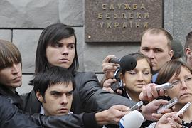 СБУ продолжает допрашивать журналистов