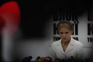 """В """"Батькивщине"""" пока не знают, чем закончится история с Тимошенко"""