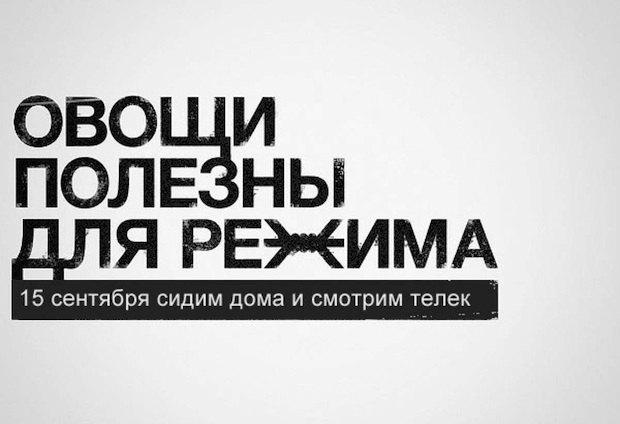 """Сатирический """"демотиватор"""", распространявшийся организаторами акции и их сторонниками задолго до сегодняшнего дня"""