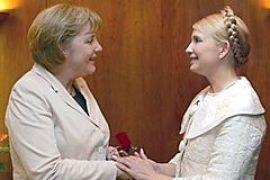 Тимошенко порадовалась за победу Меркель на выборах
