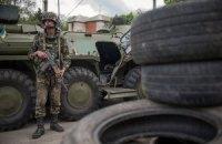 Боевики ночью дважды обстреливали блокпосты с силовиками у Славянска