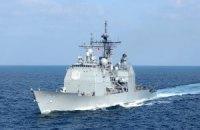 В Черное море 9 мая зайдет американский крейсер Vella Gulf