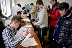 В крымском ЦИКе назвали первые цифры: явка - 82,7%, желающих присоединиться к России - 95,5%