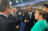 Порошенко встретился с Обамой на полях саммита НАТО