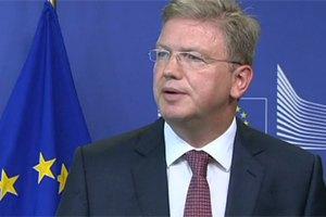ЕС и Украина не обсуждали размер возможной финпомощи, - Фюле