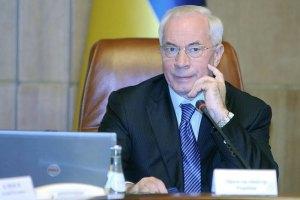 Азаров завтра встретится с Медведевым