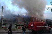 Дворец спорта в Донецке подожгли сепаратисты