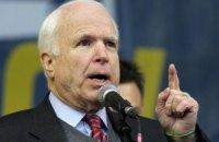 Маккейн назвал промедление с оружием для Украины позором для Обамы