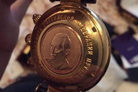 Экс-глава Киевэнергохолдинга хотел сбежать в«ДНР» сименными часами от Владимира Путина