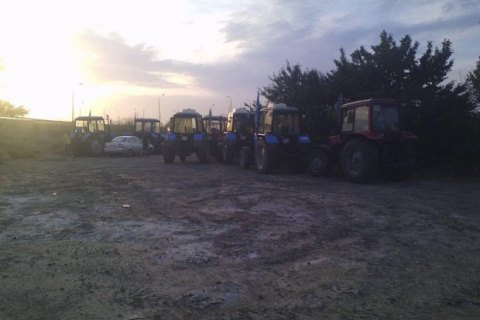 Суд оштрафовал пятерых участников тракторного марша фермеров на столицу