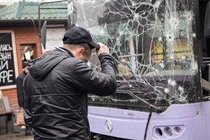В Донецке минимум семь человек погибли на остановке