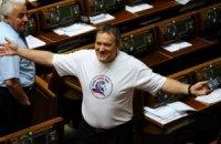 Колесниченко пришел в Раду в провокационной футболке