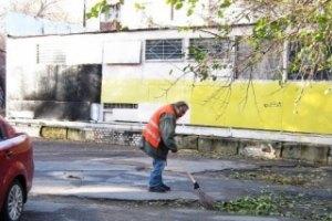 После визита Януковича в Одессе увольняют дворников
