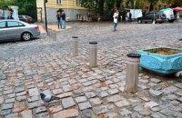 Андреевский спуск с субботы стал пешеходным