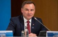 """Дуда призвал Украину внести поправки в законодательство ради """"исторической правды"""""""