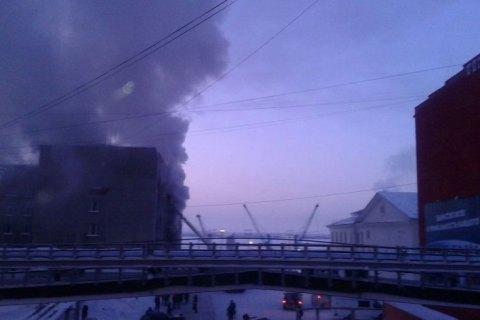 УРосії пенсіонер підпалив мерію, загинули щонайменше три людини