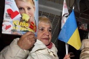 """""""Батькивщина"""" в честь дня рождения Тимошенко: ты все выдержишь"""